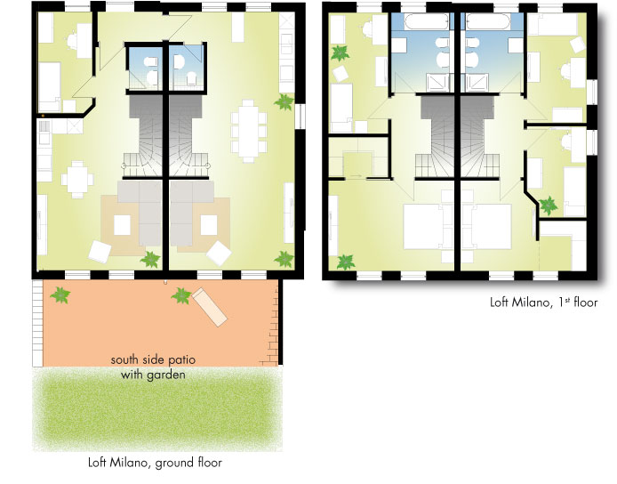 Floor Plan Loft Milano