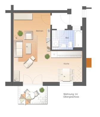 Floor Plan Suite Verona